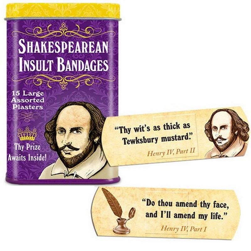 Shakespearean Insult Bandage