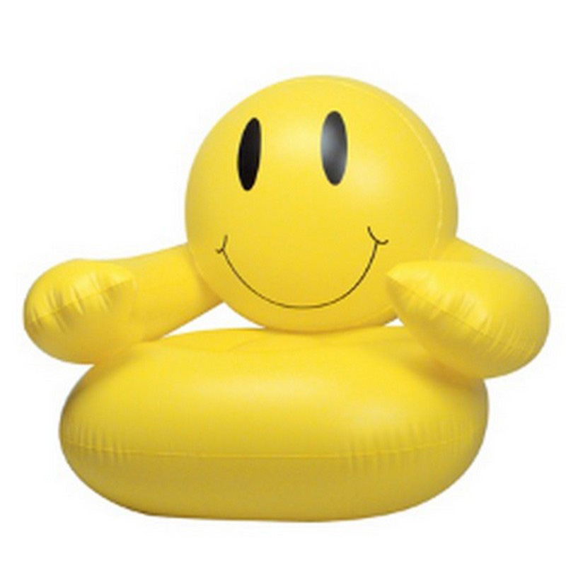 """36"""" Inflatable Smile Chair"""