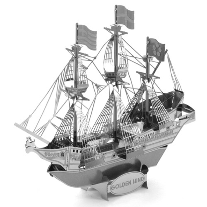 Metal Earth: Golden Hind