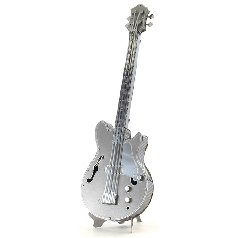 Metal Earth: Electric Bass Guitar