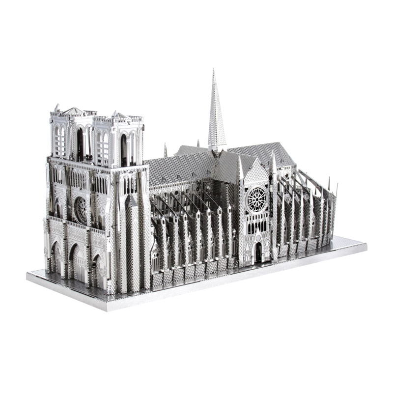 Metal Earth ICONX: Notre Dame