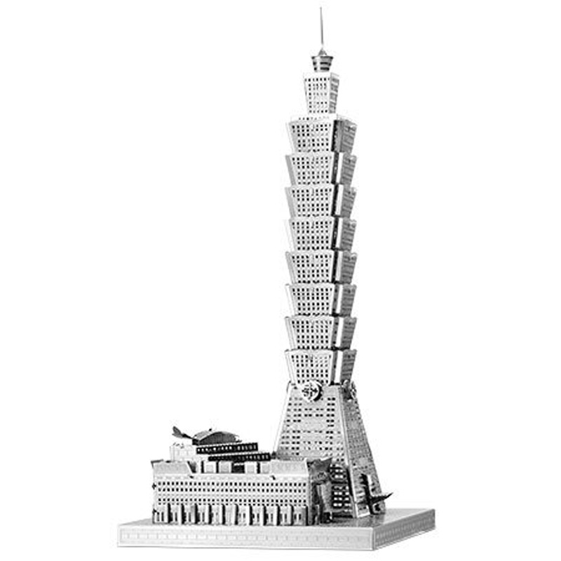 Metal Earth ICONX: Taipei 101