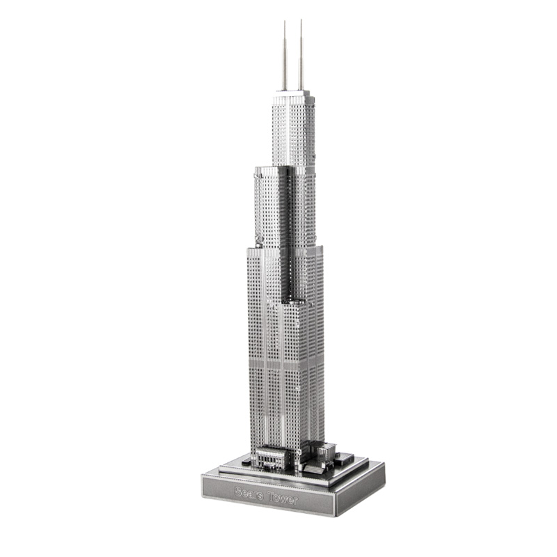 Metal Earth ICONX: Willis Tower