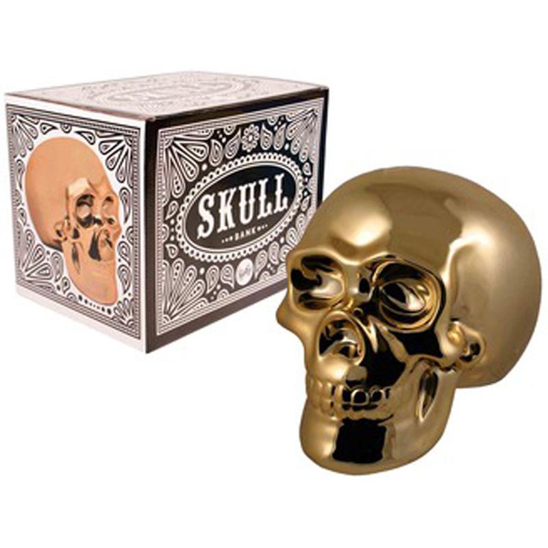 Bank - Golden Skull