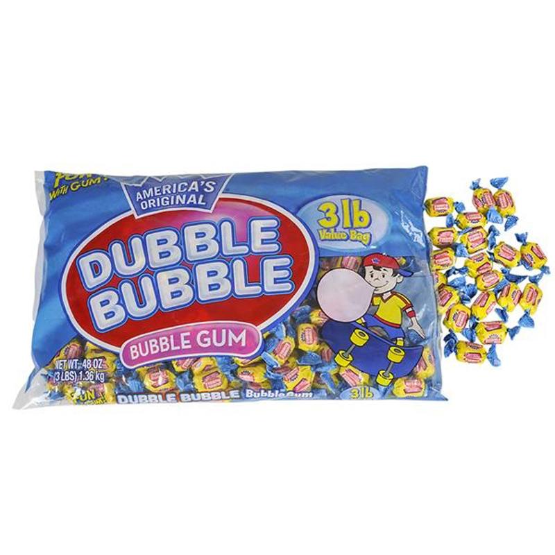 3lb Bag of Double Bubble Gum
