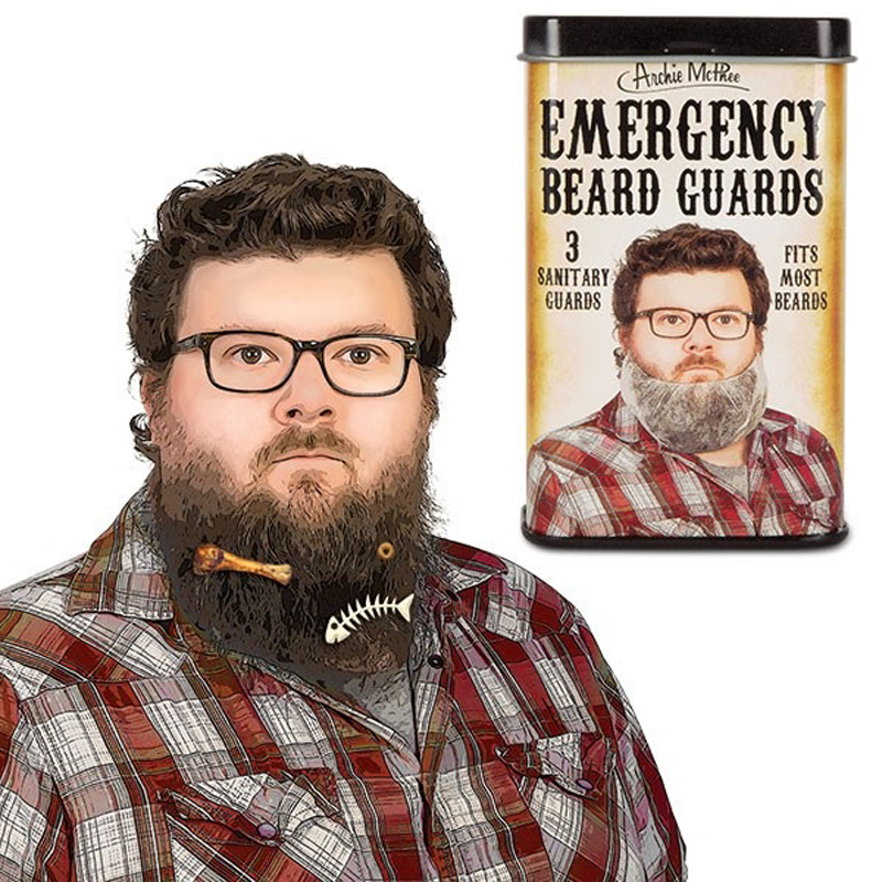 Emergency Beard Guards