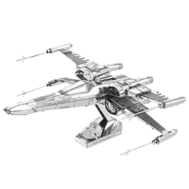 Metal Earth: Star Wars - Poe Dameron's X-wing Fighter