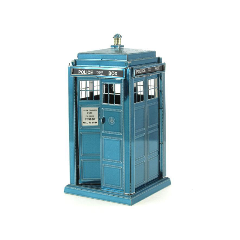 Metal Earth: Dr. Who  -Tardis