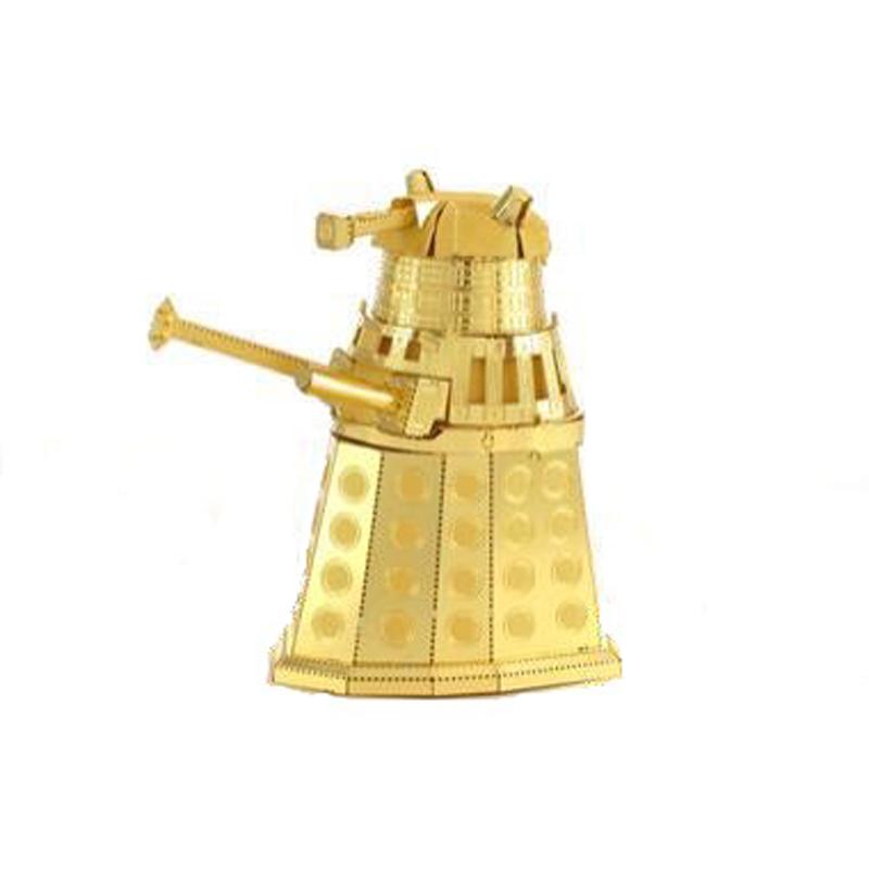 Metal Earth: Dr. Who - Gold Dalek