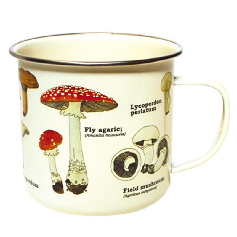 Mug - Enamel - Mushroom