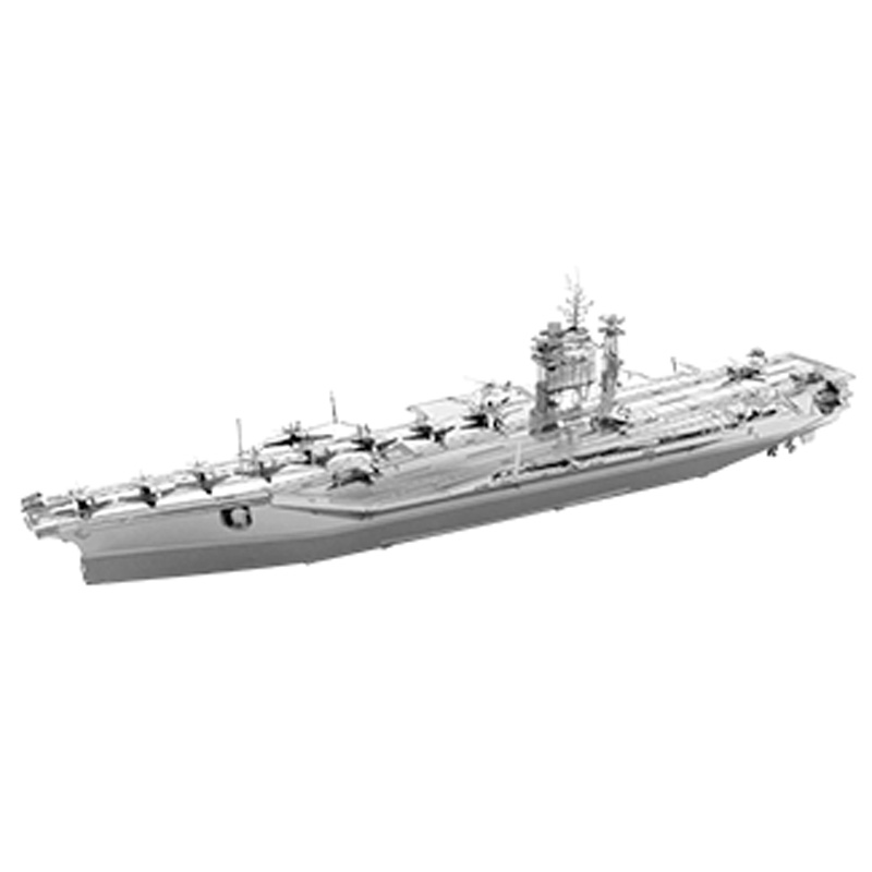 Metal Earth ICONX: USS Roosevelt Aircraft Carrier