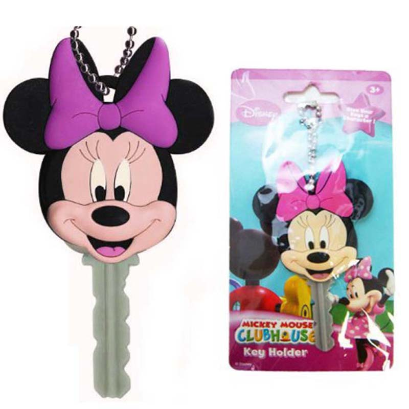 Soft Touch Key Holder - Minnie