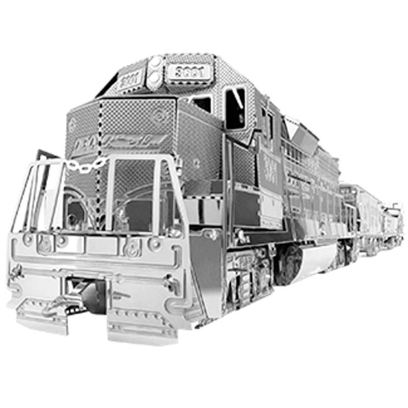 Metal Earth: Freight Train Box Gift Set