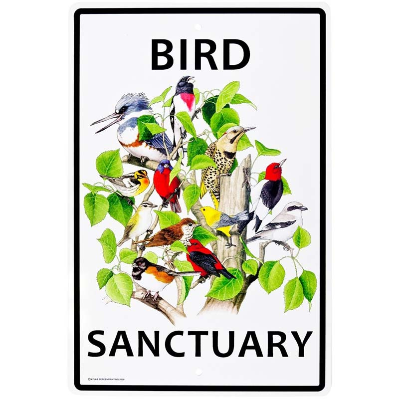 Bird Sanctuary - Sign