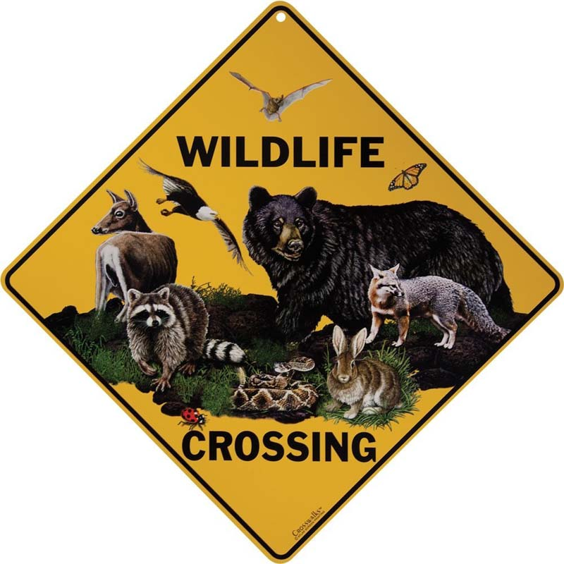 Wildlife Crossing - Sign