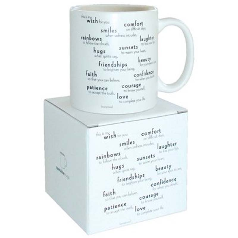 "Quotable Mug - ""This Is My Wish For You"