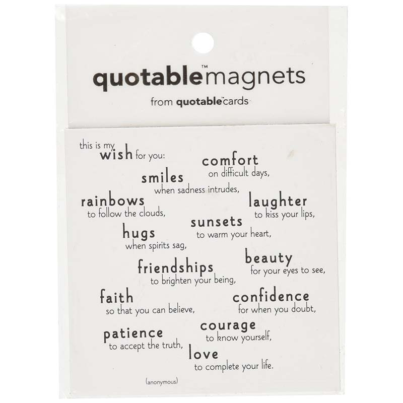 "Quotable Magnet - ""This Is My Wish For You"