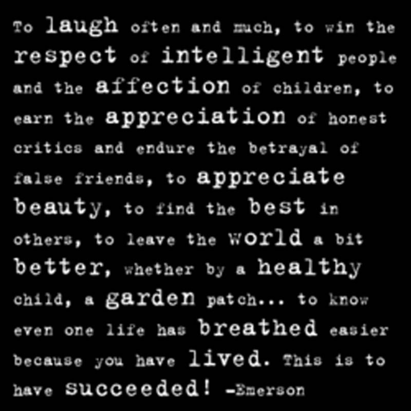 "Quotable Magnet - ""To Laugh Often And Much"