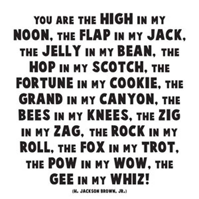 "Quotable Magnet - ""You Are The High In My Noon"