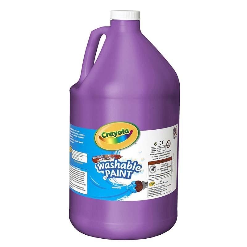 Crayola: 128 oz. Washable Paint - Violet (Purple)
