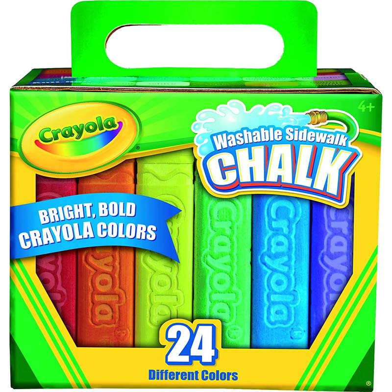 Crayola: 24 Piece Sidewalk Chalk - Tropical Colors