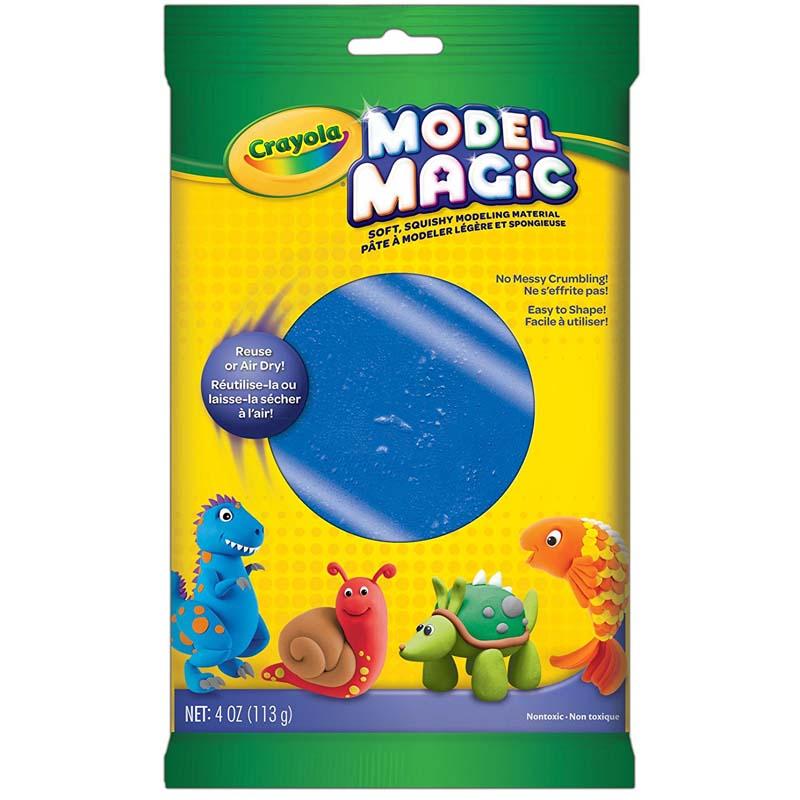 Crayola: 4 oz. Model Magic Pouch - Blue
