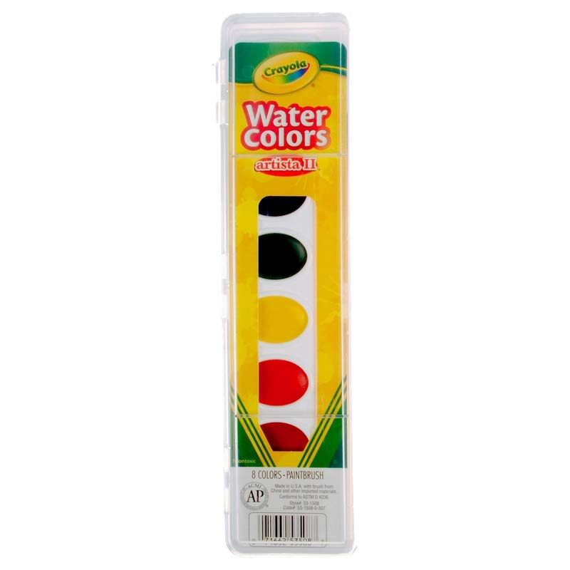 Crayola: Artista II Watercolors Set