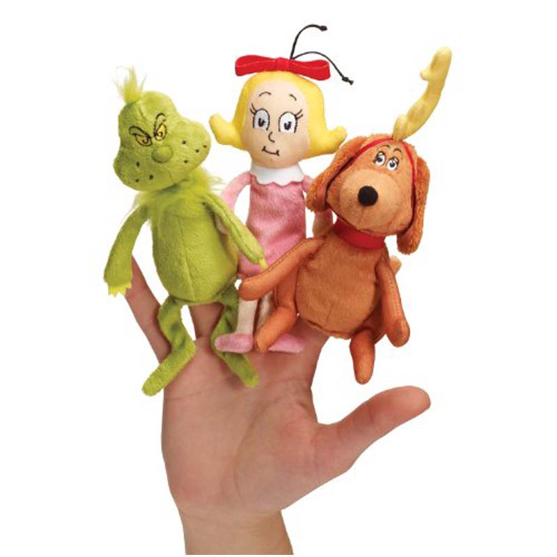 Finger Puppet - Dr. Seuss - The GRINCH