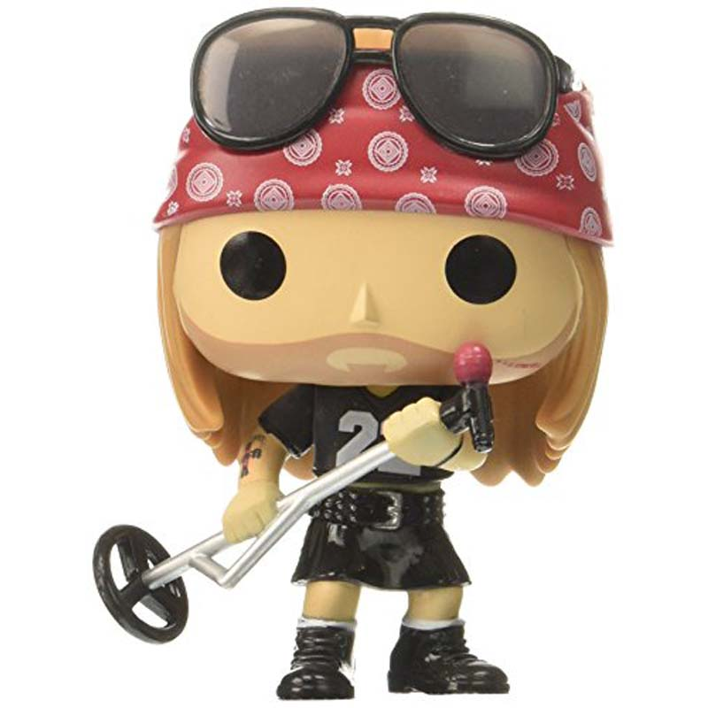 POP Rocks: Guns N Roses Axl Rose