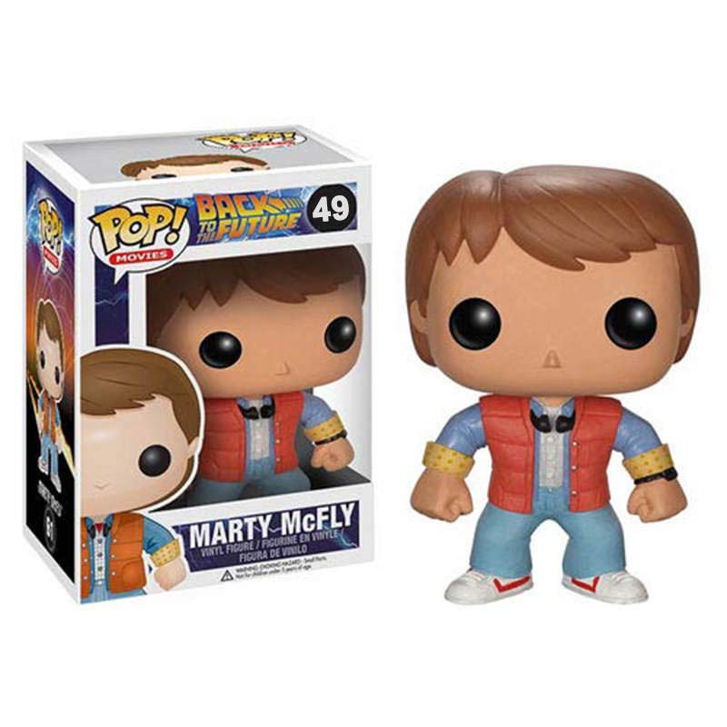 POP Movie: Back to the Future - Marty - (Box Damaged)