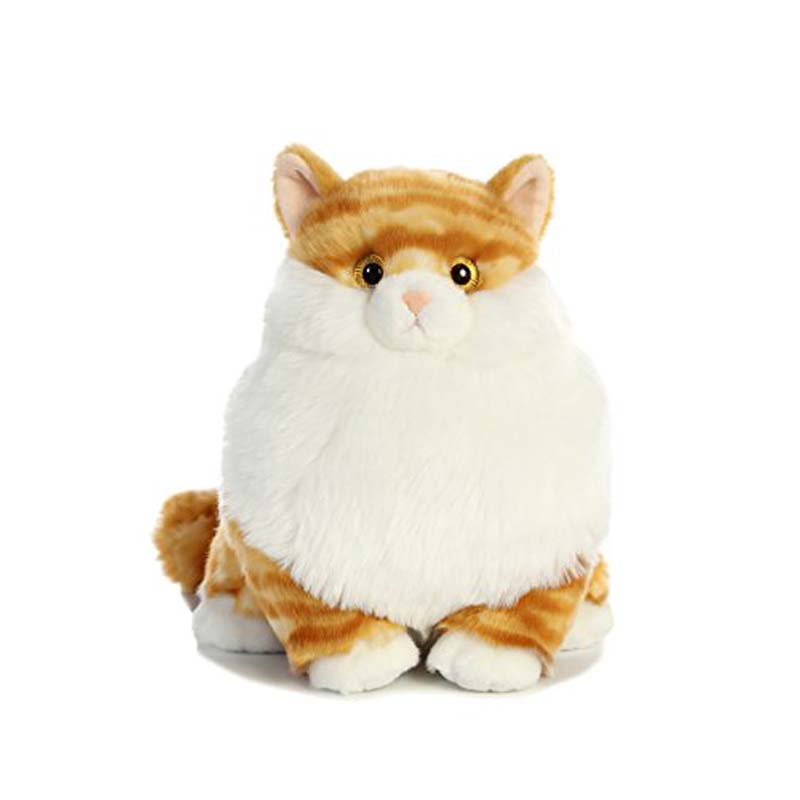 Plush - Cat - Butterball Tabby  - Fat Cat
