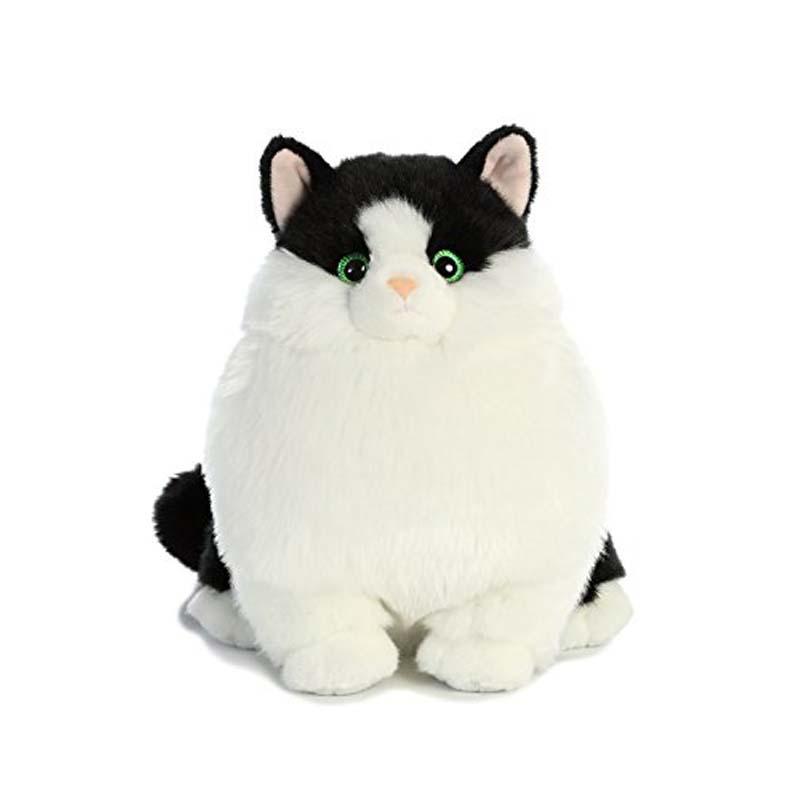 Plush - Cat - Muffins Tuxedo  - Fat Cat