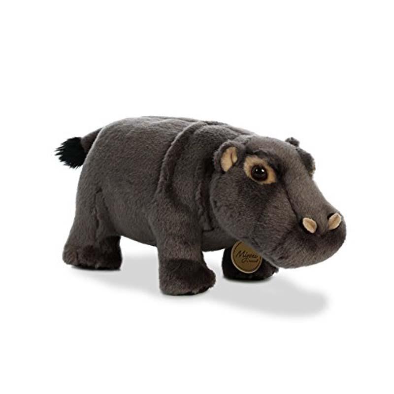 """Plush - Hippopotamus - Miyoni - 10.5"""""""