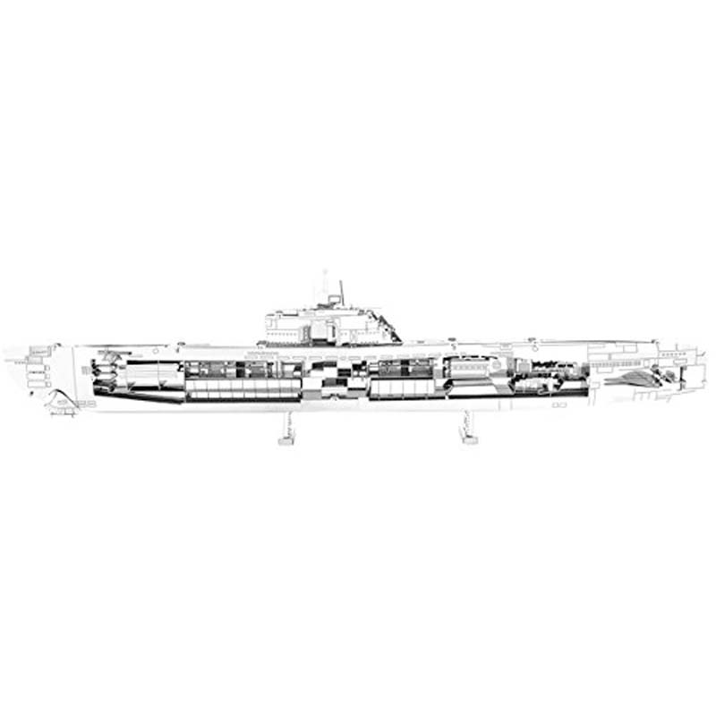 Metal Earth: German U-Boat Type XXI