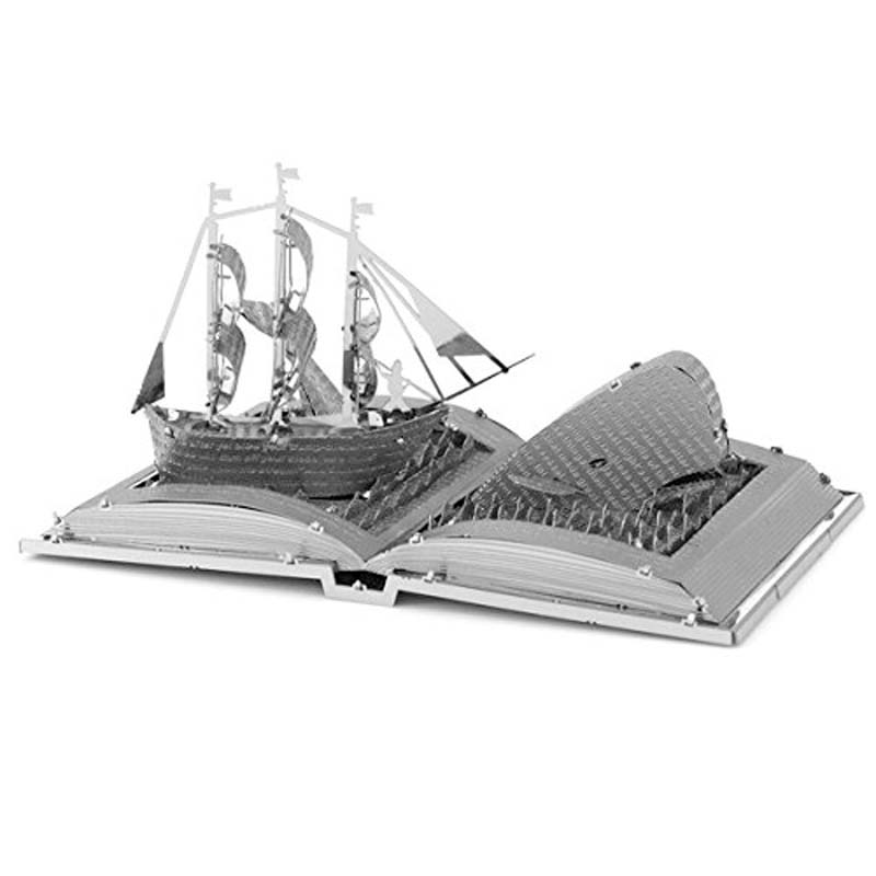 Metal Earth: Moby Dick Book Sculpture