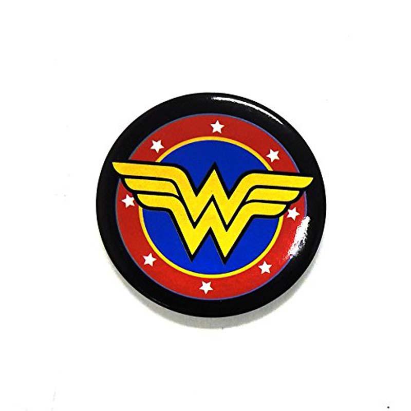 Button Magnet & Bottle Opener - DC Comics - Wonder Woman Logo