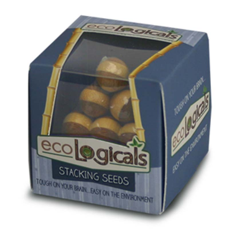 Eco Mini Brainteaser - Stacking Seeds