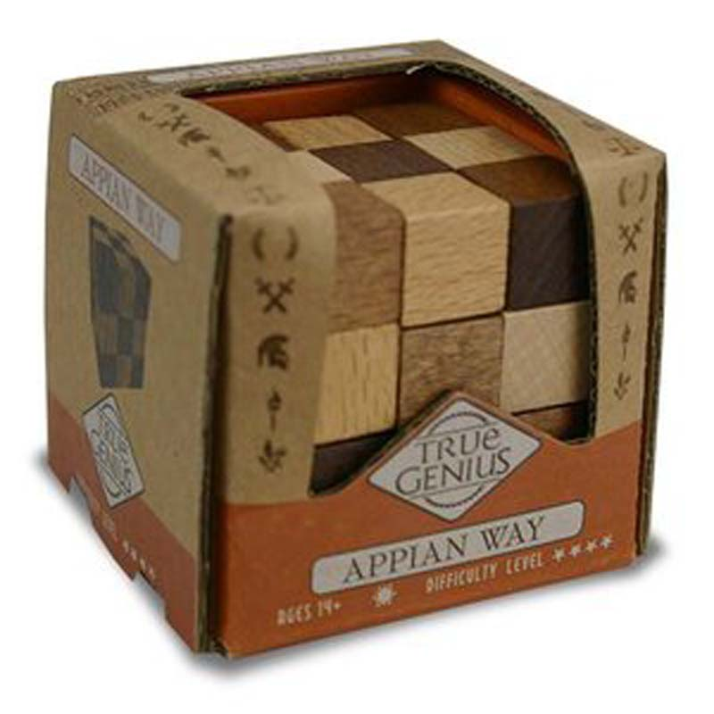 True Genius Brainteaser Wooden Puzzle - Appian Way