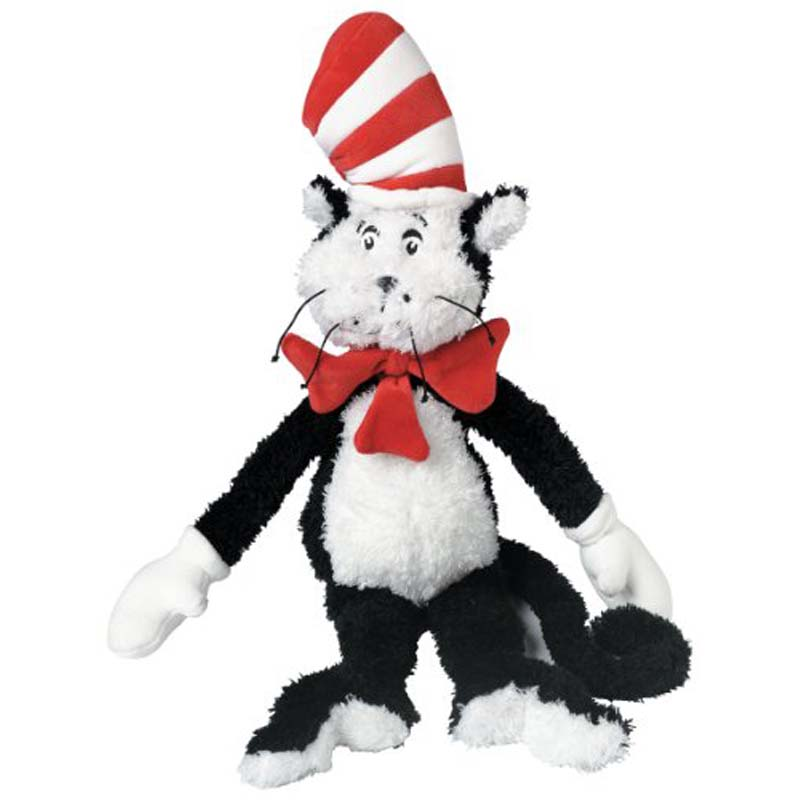 "Plush - 14"" Dr. Seuss - The Cat In The Hat"