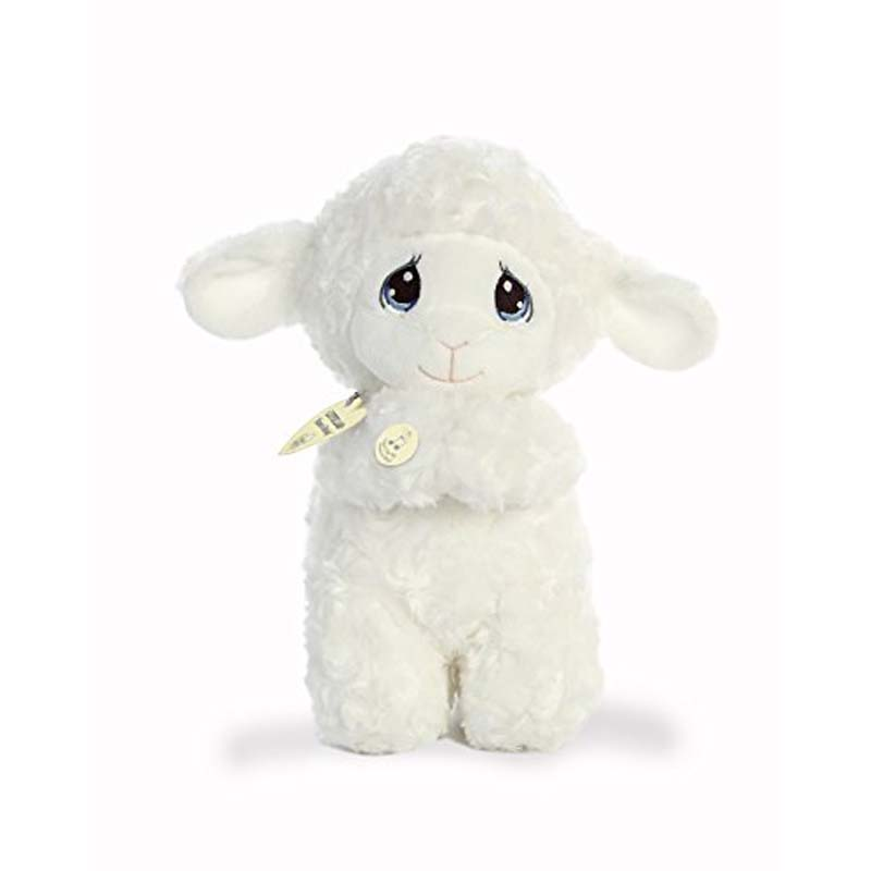 "Precious Moments Luffie Praying Lamb 10"""