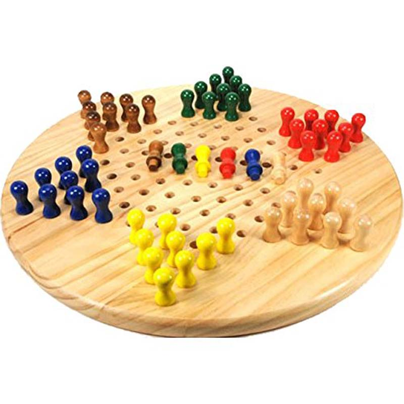 "7"" Small Chinese Checkers"