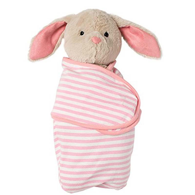 """Plush - 11"""" Swaddle Baby Bunny"""