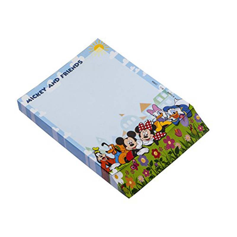 Notepad - Disney - Blue Mickey Gang