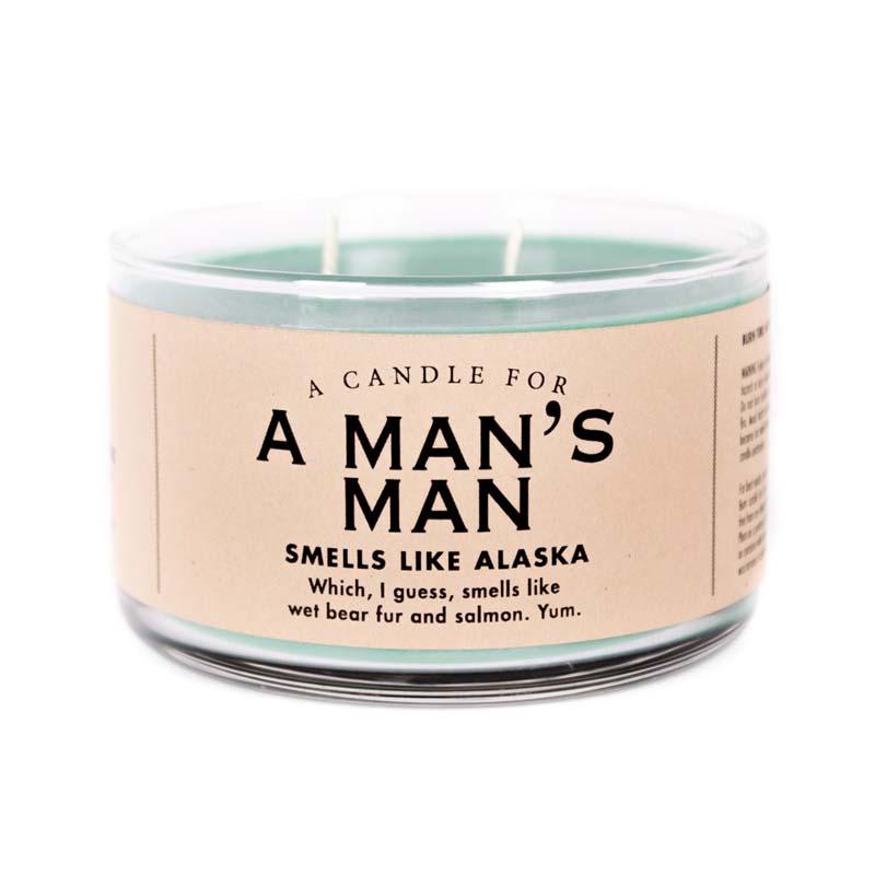 Man's Man Candle
