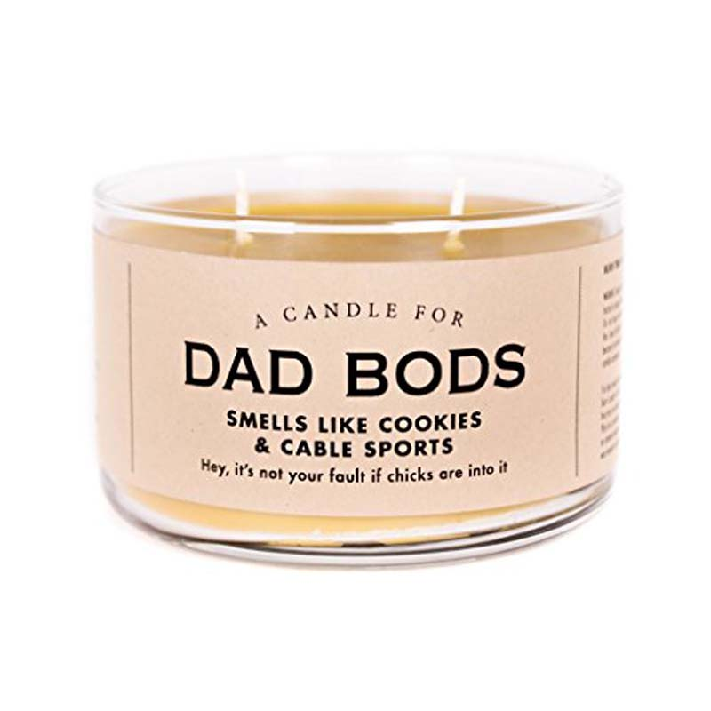 Dad Bods Candle