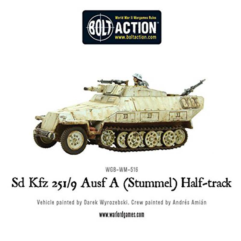 Bolt Action: Sd.Kfz 251/9 Ausf D (Stummel) Half-T