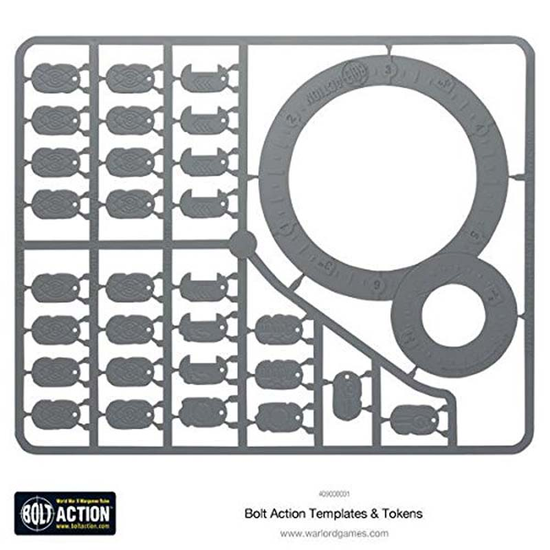 Bolt Action 2nd Edition: Templates