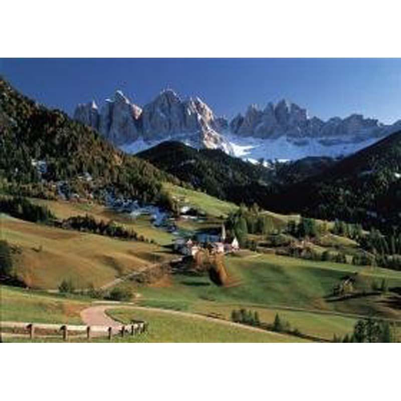 1000 Piece Mini Puzzle: Dolomiti, Italy