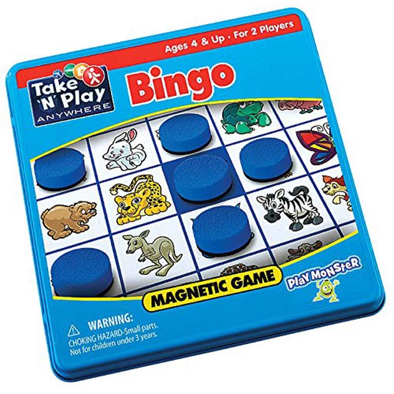 Take and Play Anywhere Bingo
