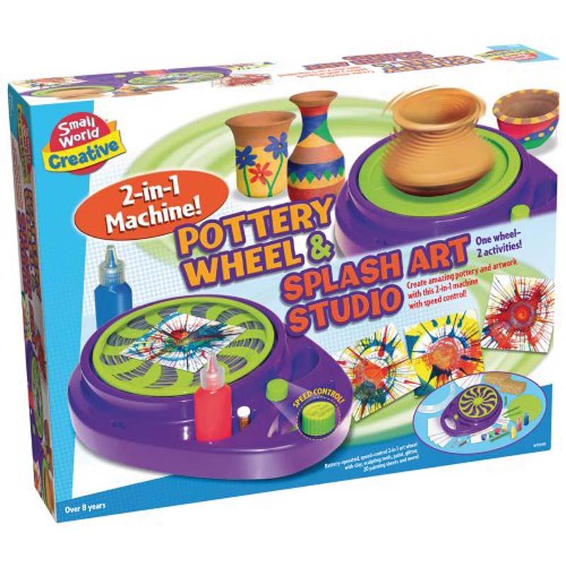 Pottery Wheel & Splash Art Studio